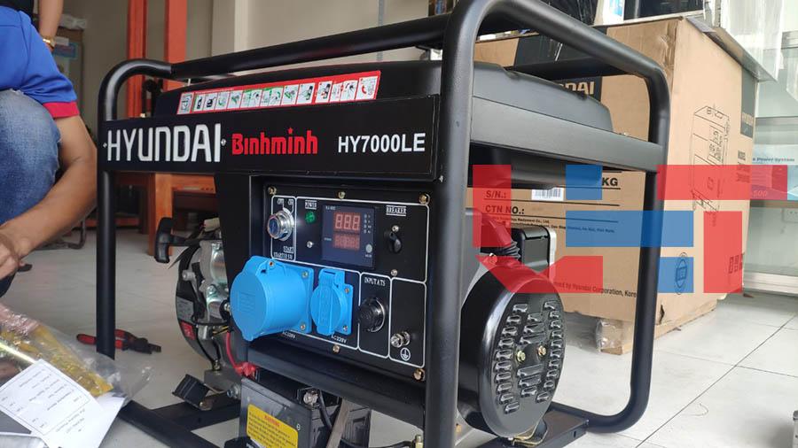 Máy phát điện chính hãng HY7000LE